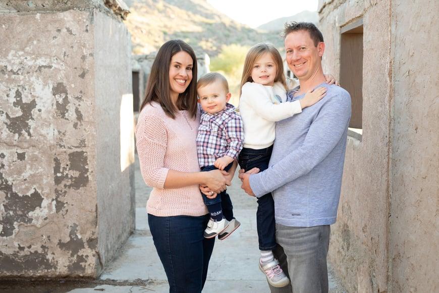 Dr. Zoë McMillen & Family