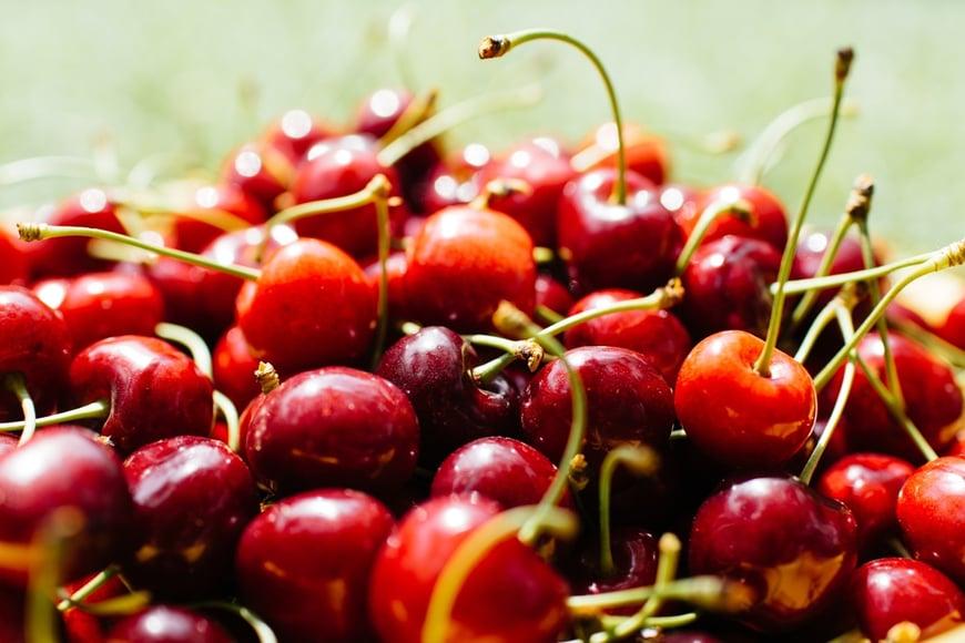 cherry almond quinoa salad