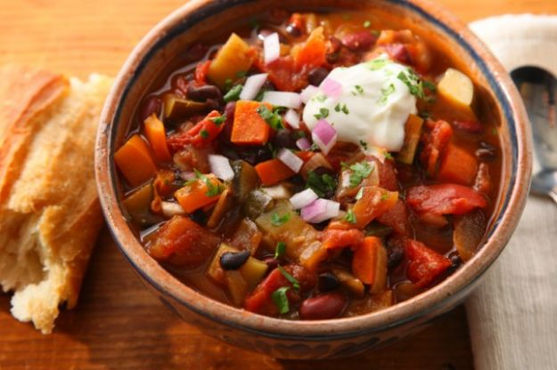 tasty vegetarian chili